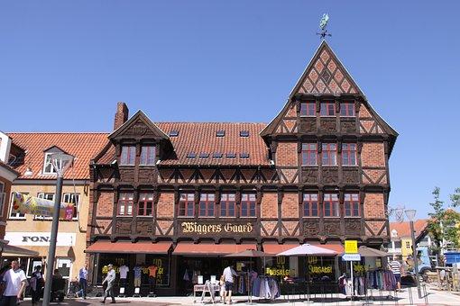 Svendborg, Denmark, Grocer, Merchant, Building