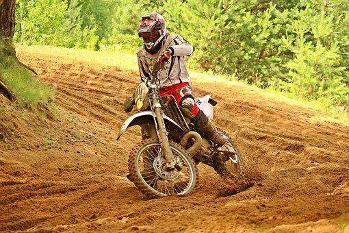 Motocross, Dirtbike, Enduro, Cross, Motorcycle