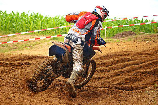 Motorcycle, Motocross, Enduro, Dirtbike, Motorcyclist