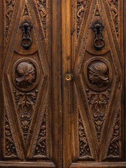 Door, Wood, Facade, Architecture, Old Door, Input