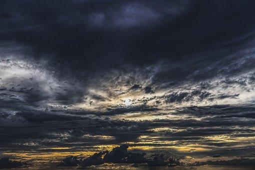 Dramatic, Clouds, Sky, Dramatic Sky, Mood, Weather Mood