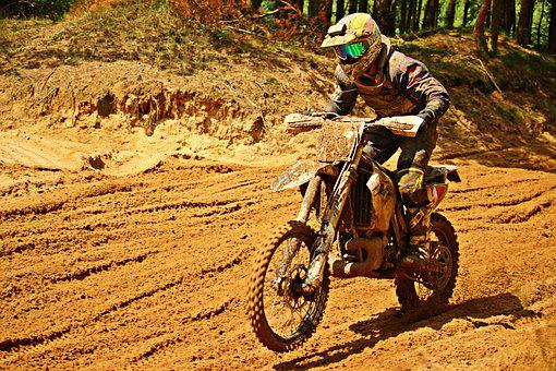 Motorcycle, Sport, Motorsport, Enduro, Dirtbike