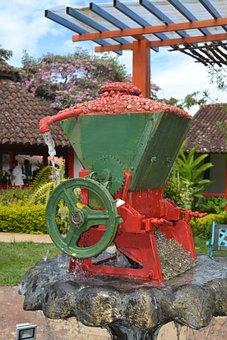 Coffee, Machine, Thresher