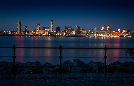 Liverpool, Mersey, City, Merseyside, England, Uk