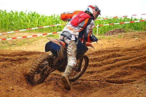 Motorcycle, Motocross, Enduro, Dirtbike, Motorcyclist