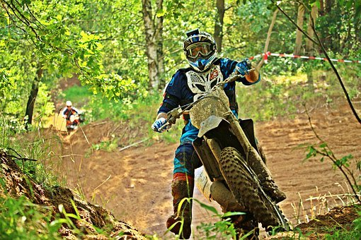 Motorcycle, Motocross, Enduro, Motorcycle Sport