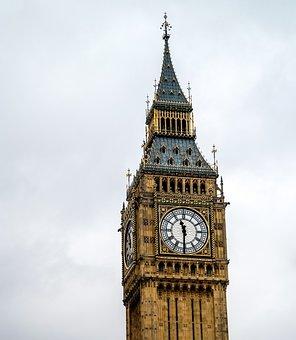 Big Ben, England, United Kingdom, Great Britain, Night