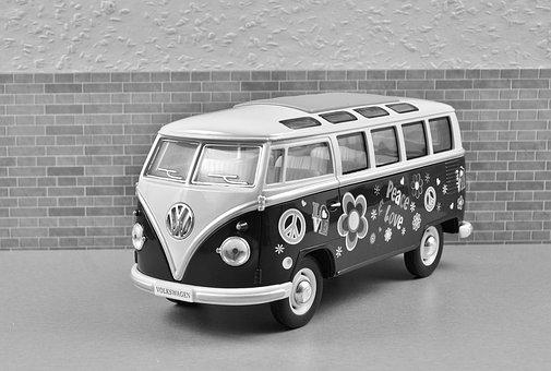 Vw, Bus, Vw Bus, Old, Bulli, Vehicle, Camping Bus