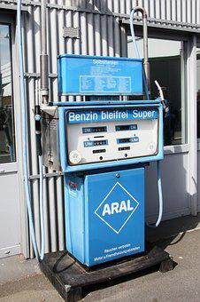 Aral, Petrol Stations, Old, Museum, Old Gas Station