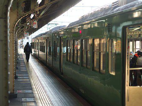 Train, Platform, Railway, Railroad, Rail