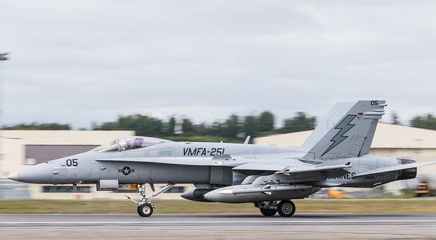 Red Flag Alaska, F-18c, Hornet, Usmc, Vmfa-21