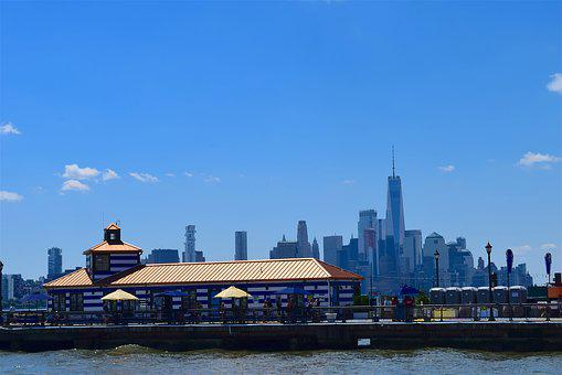 Port, Harbor, Nyc, River, Water, Manhattan, New, York