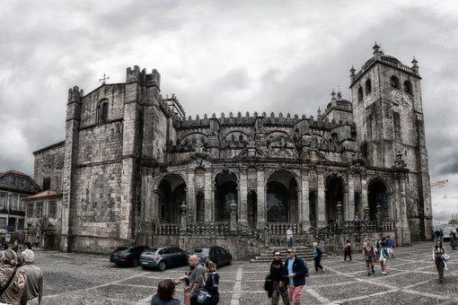 Porto, Church, Old Town, Tourism, Facade, Historically
