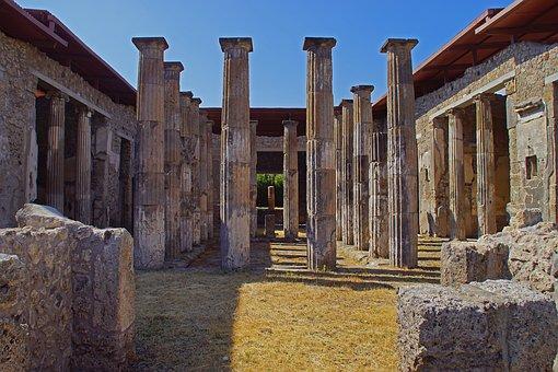 Pompei, Villa, Antique, Ruin, Heritage, Italy, Pompeii