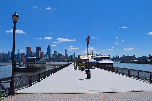 Port, Harbor, Nyc, Ship, River, Water, Manhattan, New