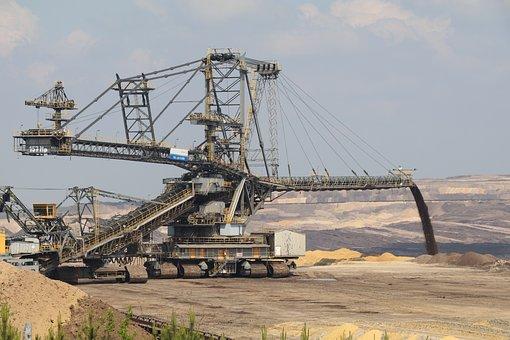 Weanling, Open Pit Mining, Welzow, Energy, Brown Coal