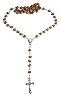 Wooden Rosary, Wood, Wooden, Rosary, Bead, Beaded