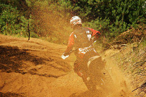 Sand, Motocross, Dirtbike, Enduro, Dirt Bike, Action