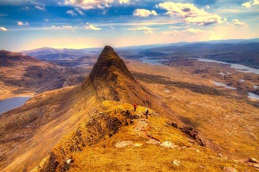 Scotland, Highlands, Landscape, Tourism, Peak