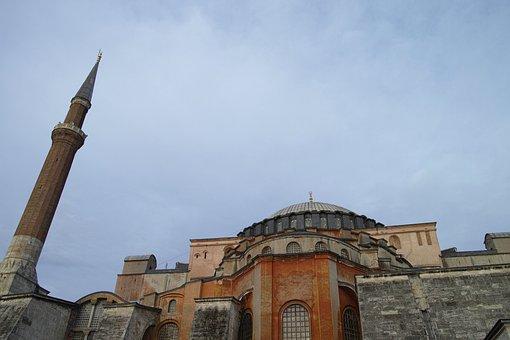 Cami, Hagia Sophia, Historical City, Turkey