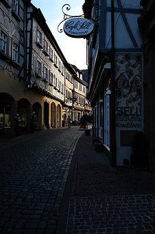 Old Town, Road, Building, Historically, Cobblestones