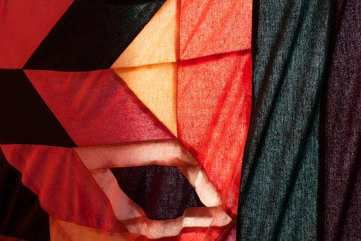 Fabric, Tent, Indian, Colorful