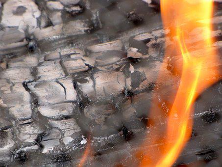 Fireplace, Flame, Burn, Firewood, Orange, Blazing