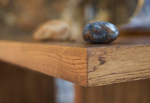 Table, Stone, Balance, Macro, Kennedy, Design, Idea