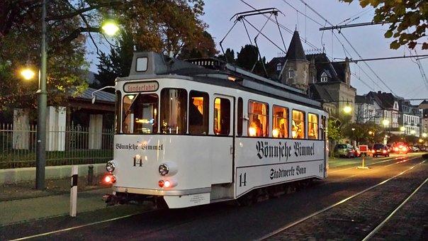Tram, Nostalgic, Transport, Bönsche Road