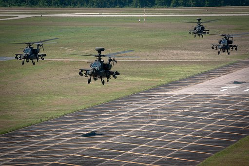 Ah-64d, Apache, Helicopter, Us Army, Army