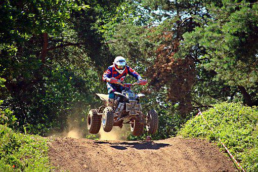 Quad, Enduro, Motorcycle, All-terrain Vehicle