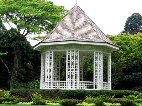 Singapore, Botanic, Garden, Building, Cute, Small