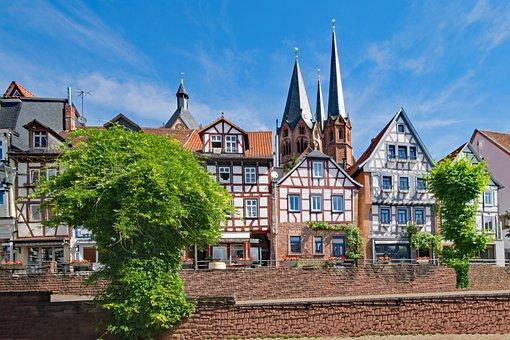 Unterer Marktplatz, Gelnhausen, Hesse, Germany