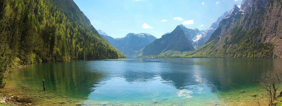 Königssee, Alpine, Berchtesgaden, Berchtesgaden Alps