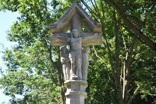 Monuments, Religious, Cross, Christ, Statues