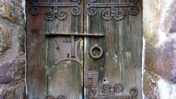 Door, Old, Old Door, Texture, Old Wood, Rustic, Tousled