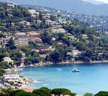Sea, Le Lavandou, Provence, Holiday, France, South