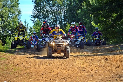 Quad, Race, Enduro, Motocross, Atv, All-terrain Vehicle