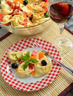 Tortellini, Tortelloni, Tortellini Salad, Salad