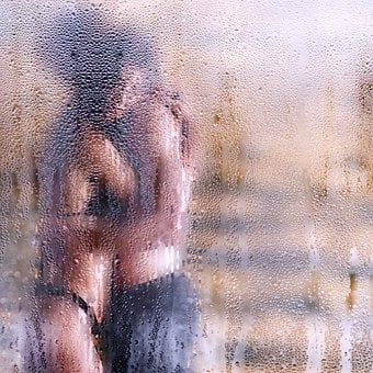 Pair, Lovers, Erotic, Art, Skin, Temptation, Shower