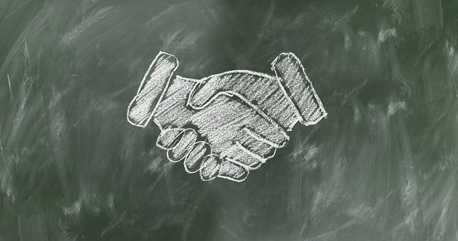 Shaking Hands, Handshake, Teamwork, Staff, Team, Board