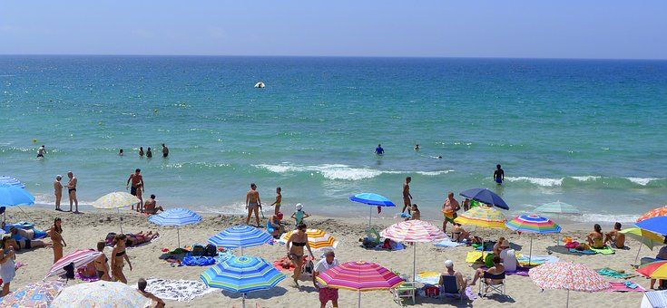 Alghero, Beach, Mediterranean, Summer, Summertime
