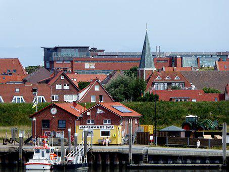 Island Of Juist, Holiday, North Sea, Architecture