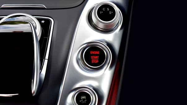 Car, Start Button, Button, Start, Vehicle, Automobile