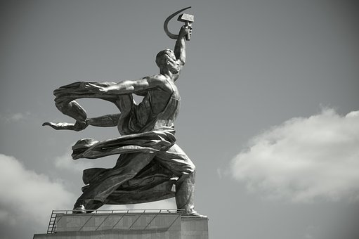 Worker And Kolkhoz Woman, Monument, Moscow