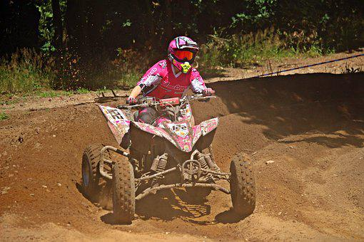 Quad, Enduro, Motocross, Atv, All-terrain Vehicle