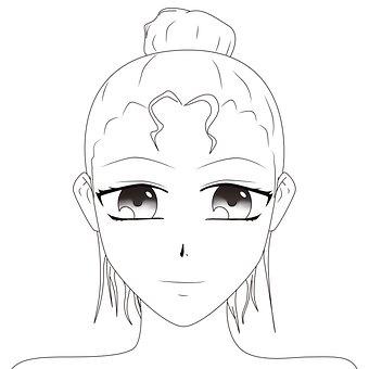 Artwork, Female, Drawing, Anime, Manga, Woman, Girl
