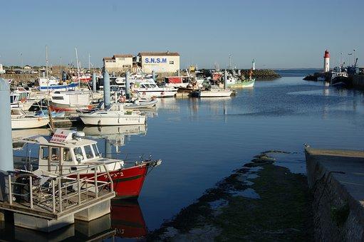 Boats, Port, Marine, Fishing, Sea