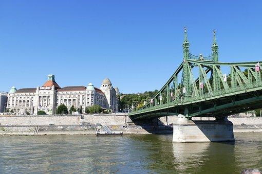 Budapest, Hungary, Architecture, Bridge