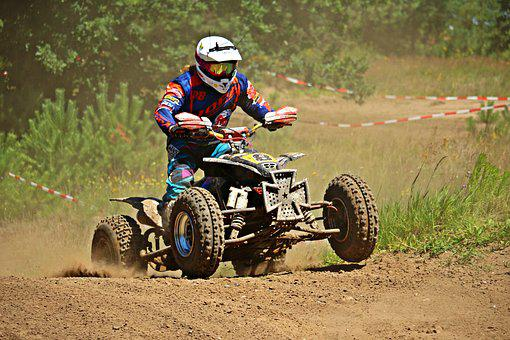 Quad, Quad Race, Enduro, Atv, Motocross